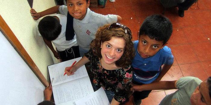 Shannon Kraemer in Guatemala