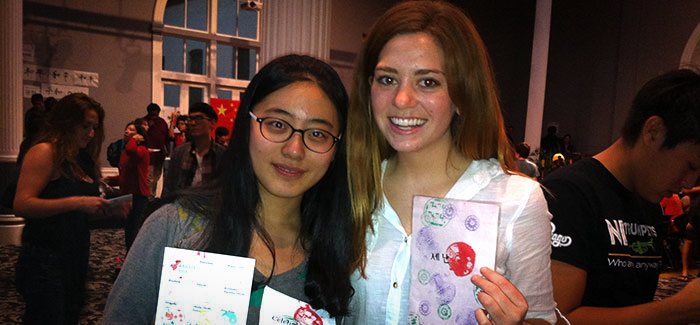 Shannon Kraemer and Weiyi Zhao Celebrate Asia 2013