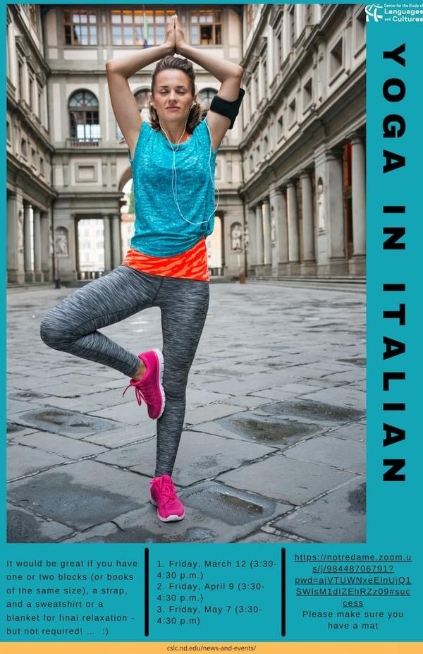 Yoga In Italian
