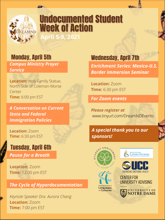 Undocumented Student Week of Action